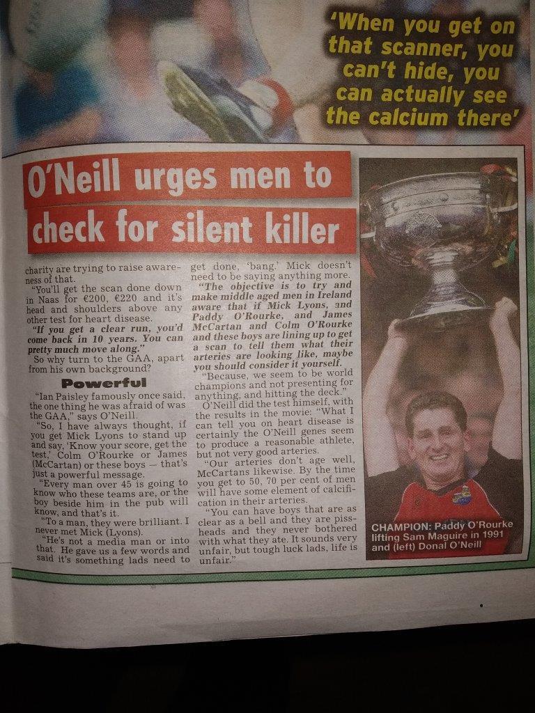 Irish Star Know Your Score CAC 4