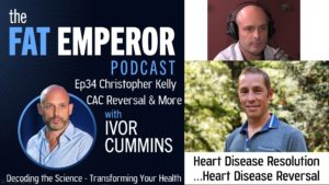 Ep34 With Christopher Kelly - Heart Disease Resolution and...Heart Disease Reversal.