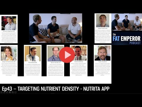 Ep43 from Monaco - How do you ensure a Nutrient-Dense Diet? Nutrita can help!
