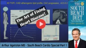 Arthur Agatston MD - South Beach Cardio Special Part 1