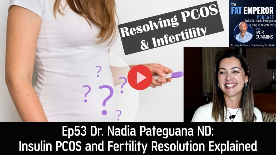Ep53 Nadia Pateguana ND - Insulin PCOS and Fertility Resolution Explained