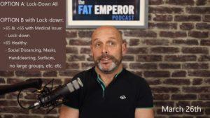 Corona Mitigation Strategies - Excerpts from Feldman-Cummins Podcast