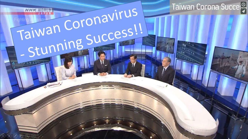 Taiwan Coronavirus Stunning Success