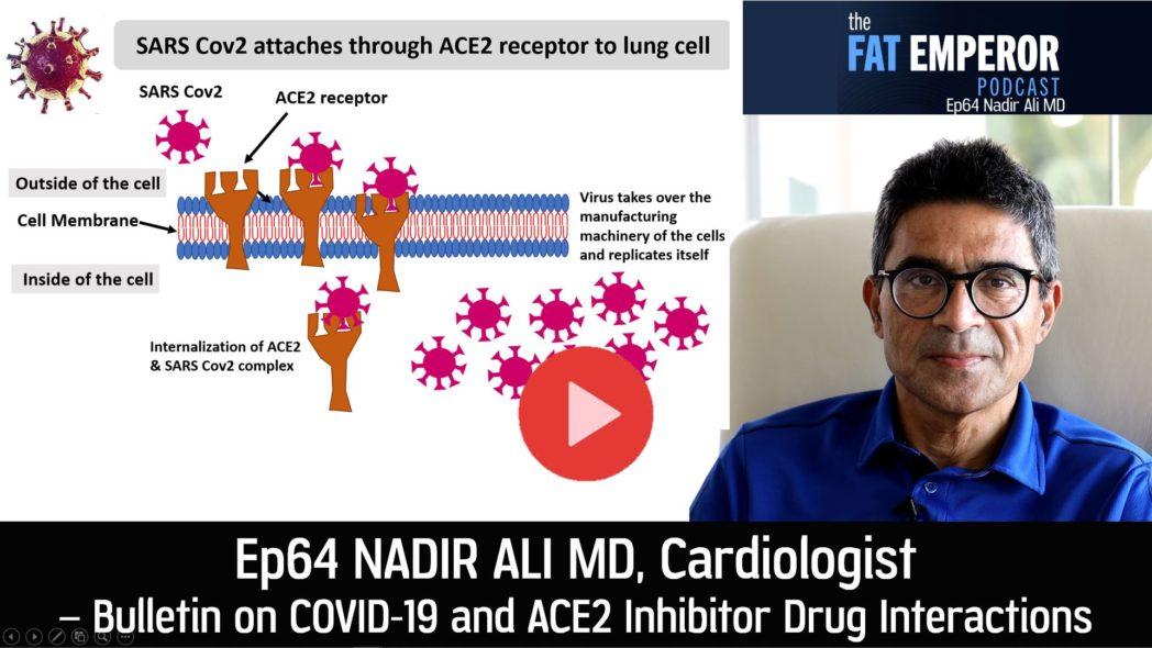 Ep64 Nadir Ali MD on COVID-19 versus ACE Inhibitor Drug Interactions