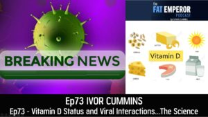 Ep73 - Vitamin D Status and Viral Interactions…The Science