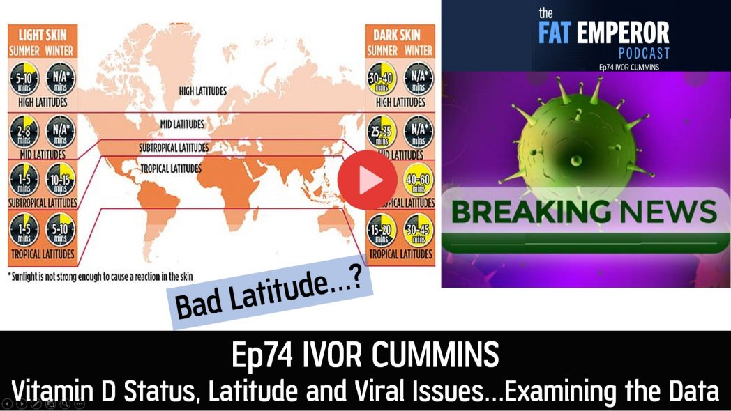 Ep74 - Vitamin D Status, Latitude and Viral Interactions - Examining the Data