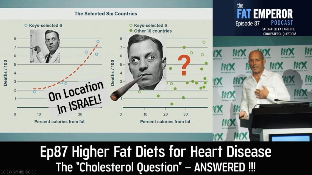 Ep87 Higher Fat Diets for Heart Disease The Cholesterol Question - Answered