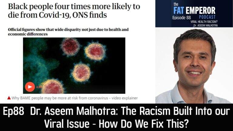 Ep88 The Racism Built Into our Viral Issue - How Do We Fix This?