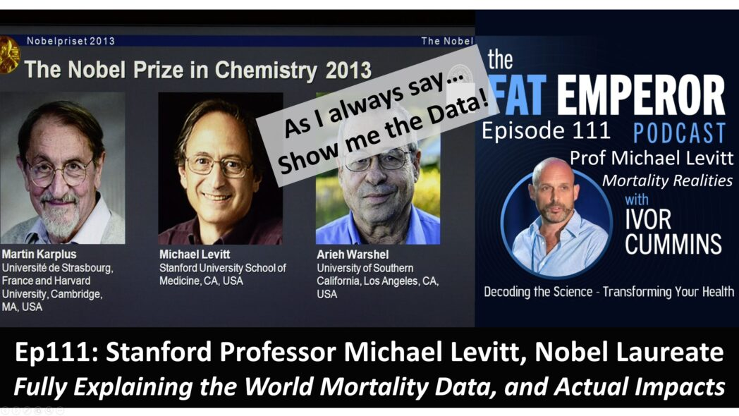 Ep.111 - Mortality Realities - Professor Michael Levitt Explains Fully