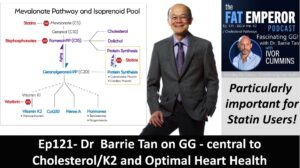 Ep121 - Dr. Barrie Tan and the Fascinating GG Compound - Central to Cholesterol & K2 Pathways